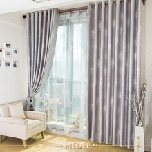 high quality 100% polyester decorative hotel blackout curtain