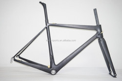 700C carbon road frame road bike frame Toray 1000 super light carbon road bike frame BB30