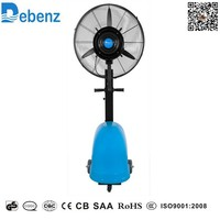 Outdoor cooling mist fan , fan mist