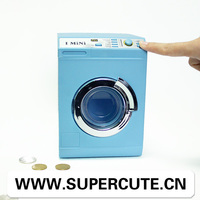 New Innovation Products 2014 The Washing Machine Shape China Wholesale Plastic Childrens Coin Money Saving Box
