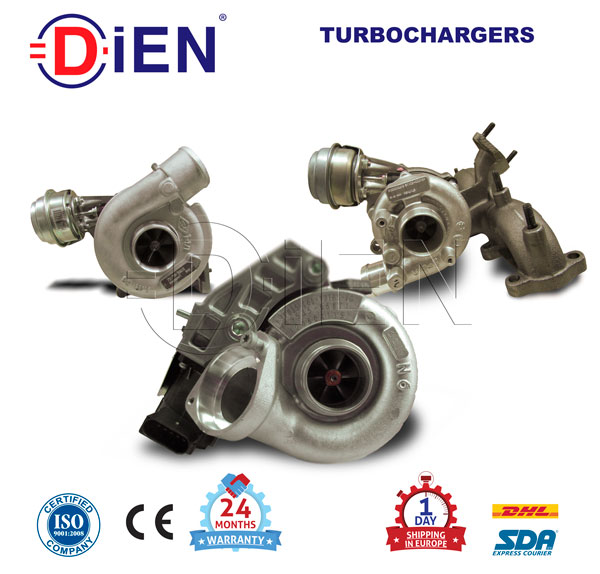708258-5001S Turbocharger for Ford Ranger Pickup 85KW/Cv Diesel GT2052S