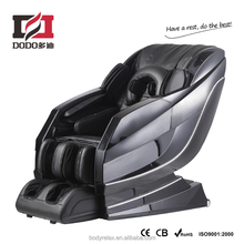 Space capsule massage chair with l shape back roller path and full body massage system