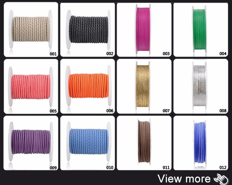 Wholesale Custom Colorful Suede Lace Faux Leather Cord