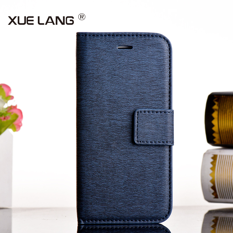 Stand Wallet Phone Cover top PU Leather Mobile Phone cover for iphone 6s plus case china factory