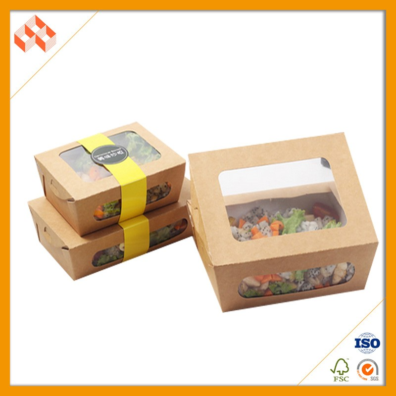 Handmade Environmental Cute take away food box disposable lunch box