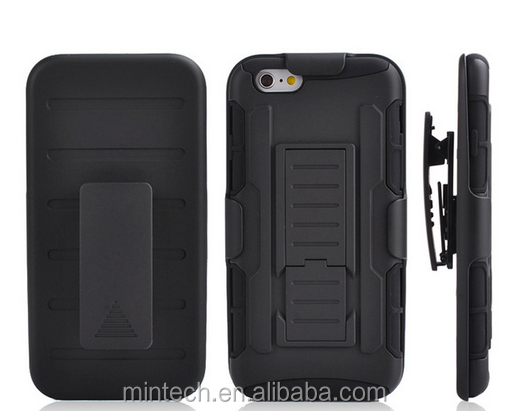Armor Hybrid Belt Clip Holster Stand Case For iPhone 5C4 4S 5 5S 6 6S 6 Plus 6S Plus
