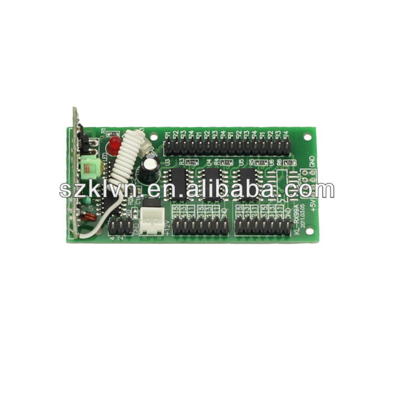 Wireless RF Remote Control Receiver Circuit Board 433mhz (KL-RX19A)