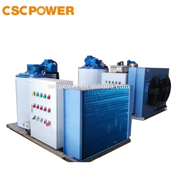 2T/day cscpower fresh water high quality flake ice machine from China supplier