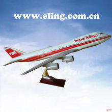 CUSTOMIZED LOGO RESIN MATERIAL boeing b777-200 resin aircraft model