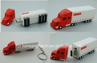 promotional truck shaped usb flash drive