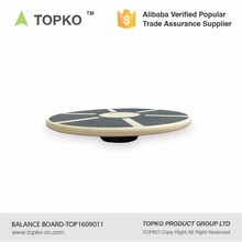 New Product Private Label Print Fitness Wooden Balance Board