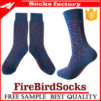 Bulk wholesale comfort 100 cotton dress socks with high quality