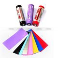 colorful pvc heat shrink tube 18650 battery pvc shrink sleeve