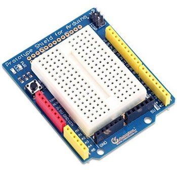 Prototype Shield for Arduino including Mini Breadboard