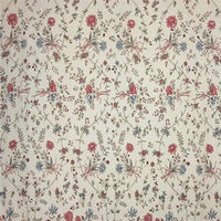 40x40 133x72 100 cotton plain printed floral fabric