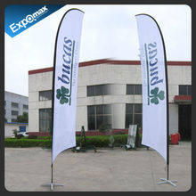 3.5m wholesale custom cheap outdoor advertising feather flags scotland