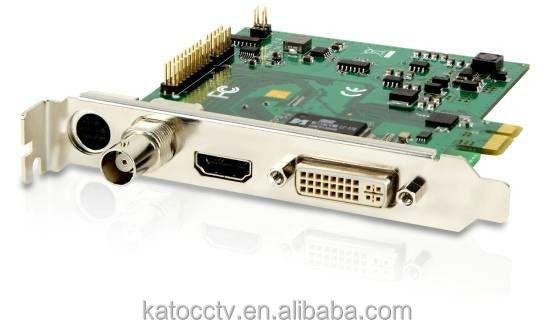 High quality HD SDI pci-e hd video grabber support Windows XP/Vista/Win7 Linux System HDCA02
