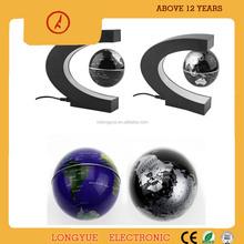 Hot sale C shape shape magnetic floating globe levitating globe