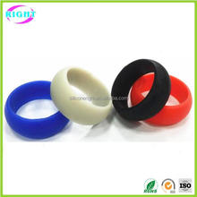 Cheap Fashion Promotion Gifts Custom Silicone Finger Rings
