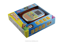 OEM English and Spanish language color screen education learning toys with high quality