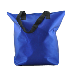 Custom carry promotion packaging bag with handle nylon fabric shopping bag
