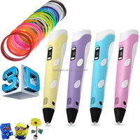 2017 Kids New Best Creative Toy 3D Drawing Pen with LCD Screen