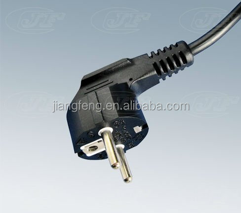 europe type power cord with plug power cable