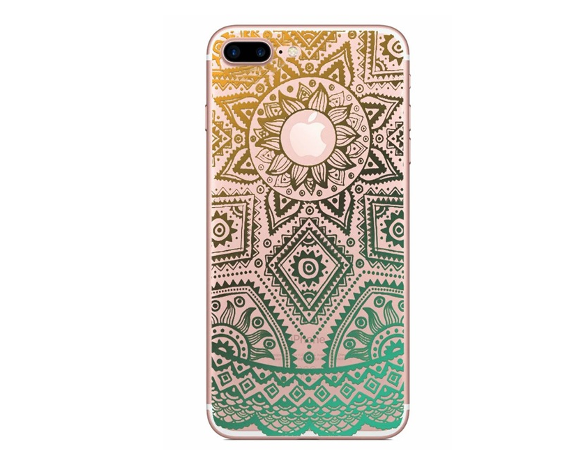 Top sale National wind pattern palace flower hollow TPU case for iphone 7, Luxury Case for iphone 7