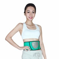 Breathable waist massager