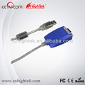 ftdi chip usb to rs232 converter serial cable