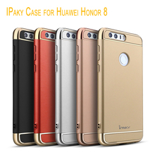 Ipaky Case for Huawei Honor 8 3-In-1 Electroplating PC Protector Hard Back Cover for Huawei Honor 8 Case