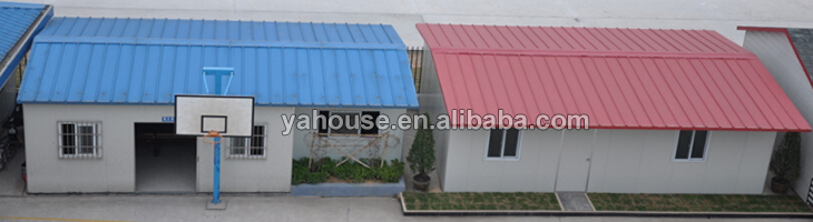 Holiday Customized Hot Sale Prefabricated Slop Roof House / Mobile Villa
