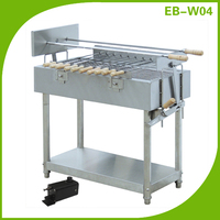 EB-W04 14 Skewers Stainless steel industrial bbq charcoal