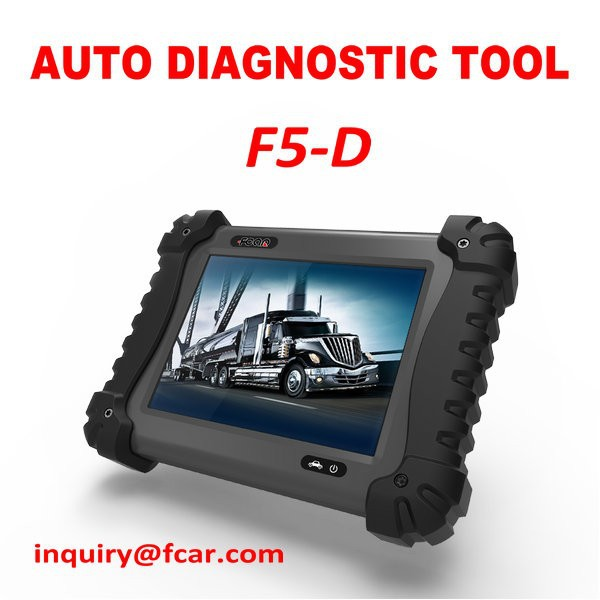 FCAR F5-D Auto scanners for Heavy duty truck repair diagnosis, JAC, tata, Mahindra, Cummin, Bosch, Siemens, CAT, DENSO, etc
