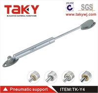TK-Y4 Rubber head cabinet pneumatic support hydraulic 100n cabinet gas spring