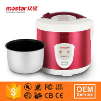 Alibaba red white multifunction deluxe rice cooker of computer type