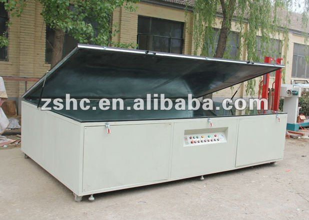 single side vaccum exposure machine for screen printing