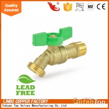 Guten top lead free brass Quarter Turn, Hose Bib from Yuhuan