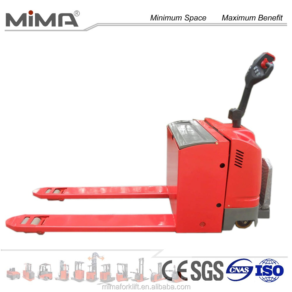 electric pallet jack with slide battery optional