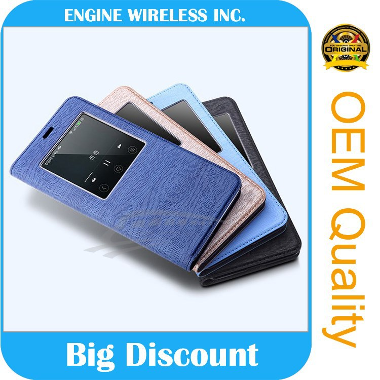 best selling products folio cover leather case for lenovo a3000
