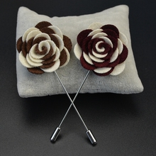 Suit Sweater Accessories Flower Fashion Brooch Lapel Pin Making Supplies