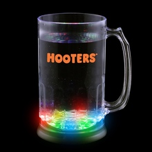 OEM customized LED flashing plastic beverage cup