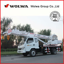 6 ton small Mobile Truck Crane for sale with low price GNQY-C6
