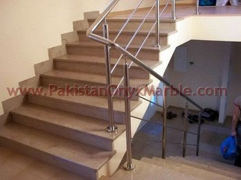 Decorative Marble Stair Step