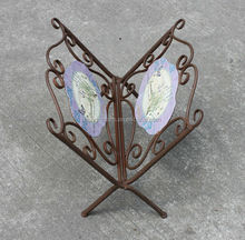 wrought iron book/Magazine Rack