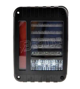 New Generation Square LED Light Stop/Turn/Tail Rear Back Lamp For Jeep Wrangler JK 07-up