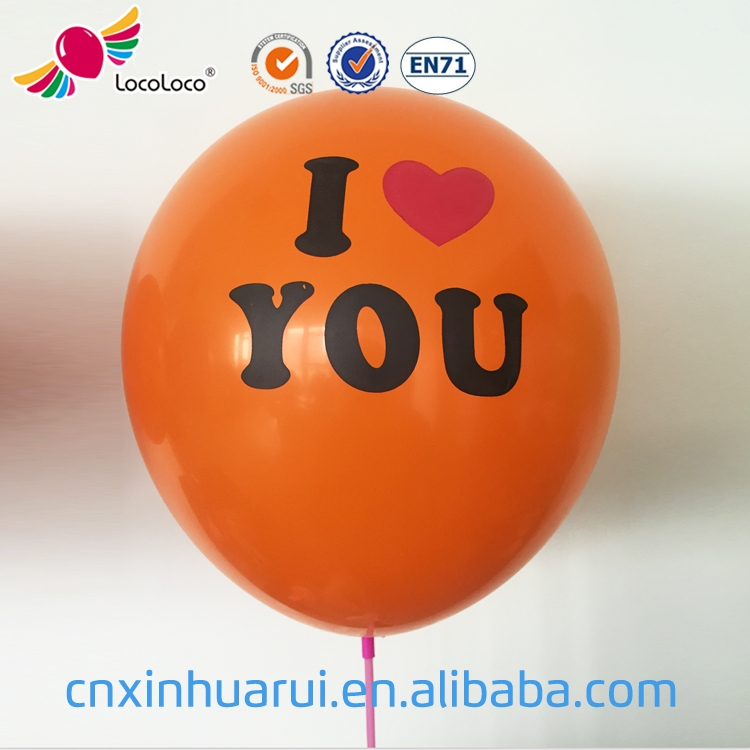 cheap price non toxic latex 10 inch printing helium balloon
