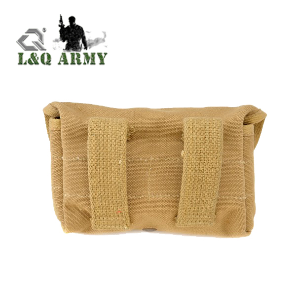 Canvas Coyote Reproduction US Shot Gun Shell Pouch
