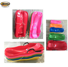 Hot sell plastic HDPE kids plastic snowboard