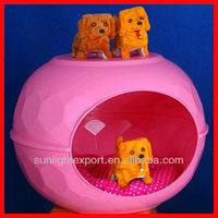 cheap indoor custom made folding pink dog cage
